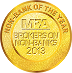 MPA Non-Bank of the Year 2013